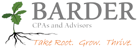 Barder CPA's and Advisors Logo.